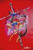 Acryl-Power, Kreuzgang, Geschichte, Mythologie, Abstrakte Kunst