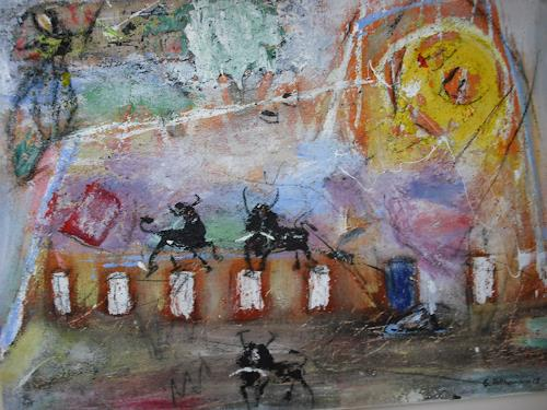 Acryl-Power, TORO, Abstraktes, Abstrakter Expressionismus, Expressionismus, Moderne