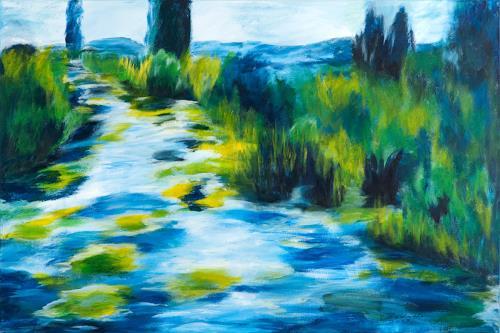 Fr nkische schweiz von gabriela zerkaulen landschaft for Moderne landschaftsbilder