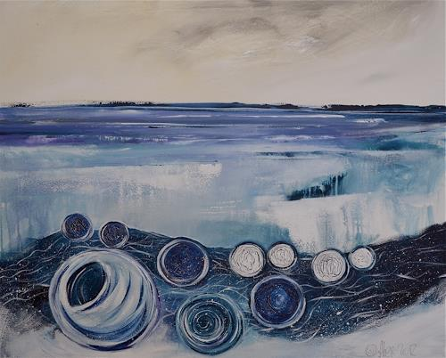 Alexandra von Burg, Arktikus, Abstraktes, Abstrakte Kunst