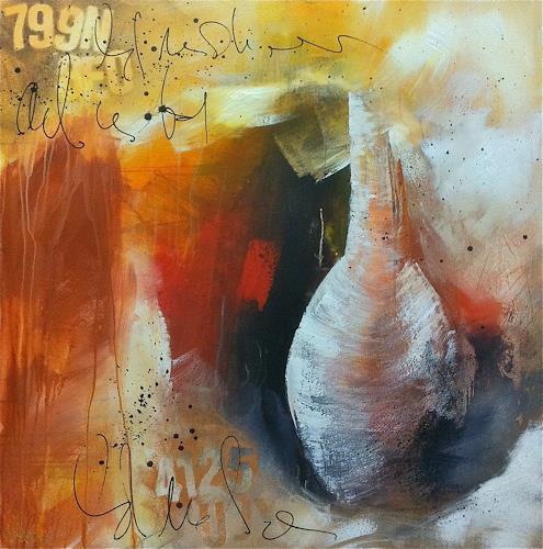 Alexandra von Burg, Frammento di un pensiero, Abstraktes, Expressionismus