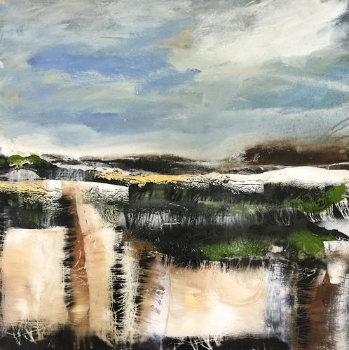 Alexandra von Burg, Fuori Mondo, Landschaft, Gegenwartskunst