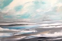 Alexandra-von-Burg-Landschaft-See-Meer-Moderne-Abstrakte-Kunst