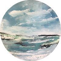 Alexandra-von-Burg-Landschaft-Ebene-Moderne-Abstrakte-Kunst