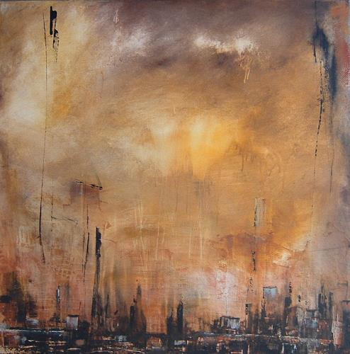 Alexandra von Burg, vortice di luce, Abstraktes, Abstrakte Kunst, Expressionismus