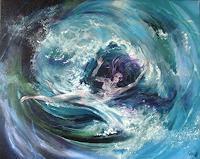 Riwi-Bewegung-Natur-Wasser-Moderne-expressiver-Realismus