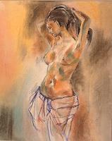 Riwi-Akt-Erotik-Akt-Frau-Menschen-Frau-Moderne-Konkrete-Kunst