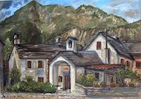 Riwi-Wohnen-Dorf-Landschaft-Berge-Neuzeit-Realismus