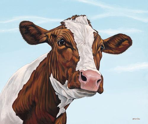 Clara Bastian, Kuh 8556, Tiere: Land, Markt, Realismus, Expressionismus