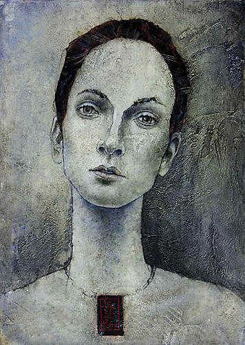 Roman Sprenger, O/T, Menschen: Porträt, Menschen: Frau, Expressionismus