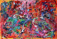 Johanna-Leipold-Fantasie-Skurril-Moderne-expressiver-Realismus