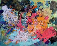 Johanna-Leipold-Abstraktes-Mythologie-Moderne-Abstrakte-Kunst
