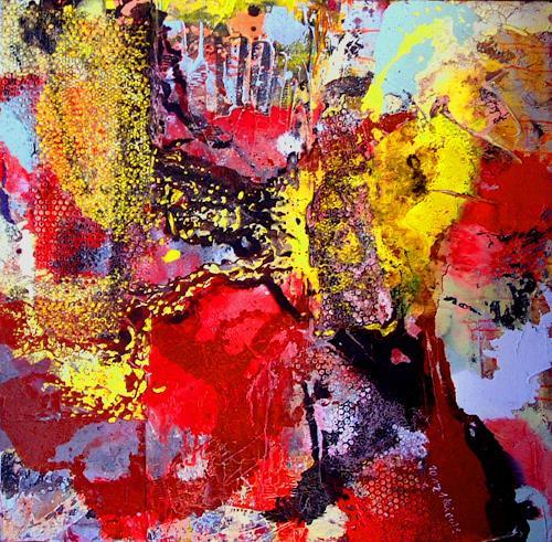 Johanna Leipold, SonnenFeld, Abstraktes, Fantasie, Abstrakte Kunst, Abstrakter Expressionismus