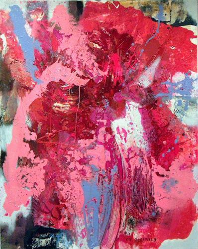 Johanna Leipold, God Is Dark, Abstraktes, Fantasie, Abstrakte Kunst
