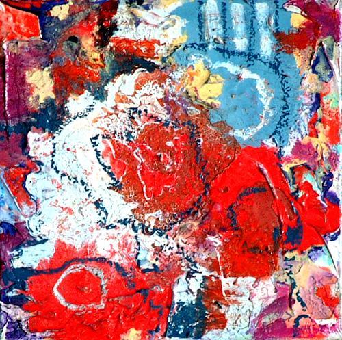 Johanna Leipold, O.T. Nr 2, Abstraktes, Fantasie, Abstrakte Kunst
