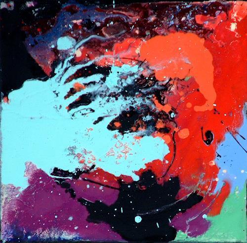 Johanna Leipold, Ich lebe immer am Strand (Groenemeyer), Abstraktes, Fantasie, Abstrakte Kunst