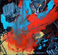Johanna-Leipold-Bewegung-Gefuehle-Aggression-Moderne-expressiver-Realismus