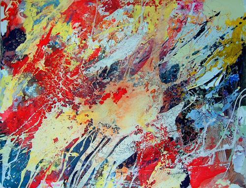 Johanna Leipold, Intuition, Abstraktes, Gefühle: Freude, Informel