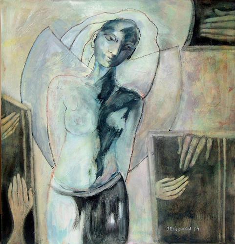 Johanna Leipold, Broken Angel, Gefühle: Trauer, Fantasie, expressiver Realismus