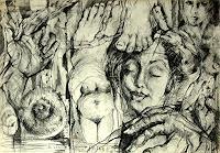 Johanna-Leipold-Mythologie-Fantasie-Moderne-expressiver-Realismus