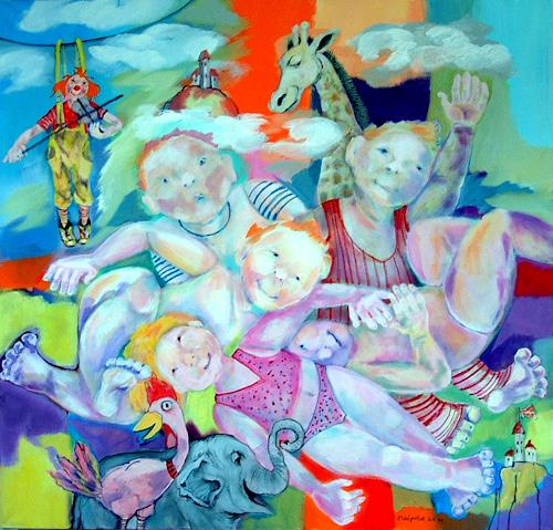 Johanna Leipold, Kinder an die Macht! (Groenemeyer), Poesie, Menschen: Kinder, expressiver Realismus, Abstrakter Expressionismus
