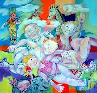 Johanna-Leipold-Poesie-Menschen-Kinder-Moderne-expressiver-Realismus