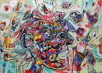 Johanna-Leipold-Menschen-Gesichter-Skurril-Moderne-expressiver-Realismus