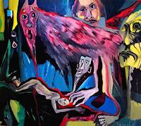 Johanna-Leipold-Skurril-Gefuehle-Angst-Moderne-expressiver-Realismus