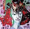 Johanna Leipold, Haarspaltereien, Menschen: Gesichter, Fantasie, expressiver Realismus