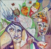 Johanna-Leipold-Menschen-Gefuehle-Freude-Moderne-expressiver-Realismus