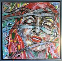 Johanna-Leipold-Gefuehle-Geborgenheit-Menschen-Portraet-Moderne-expressiver-Realismus