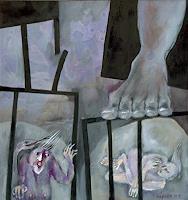 Johanna-Leipold-Menschen-Mann-Gefuehle-Angst-Moderne-expressiver-Realismus