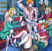 Johanna-Leipold-Humor-Gefuehle-Freude-Moderne-expressiver-Realismus