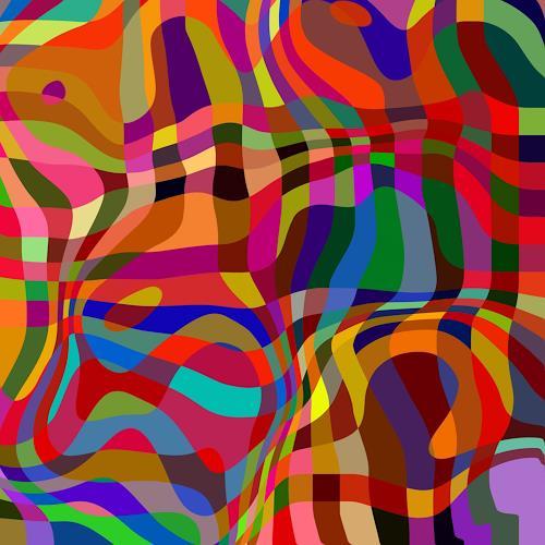 Niko Bayer, Interlace - 6, Abstraktes, Bewegung, Gegenwartskunst