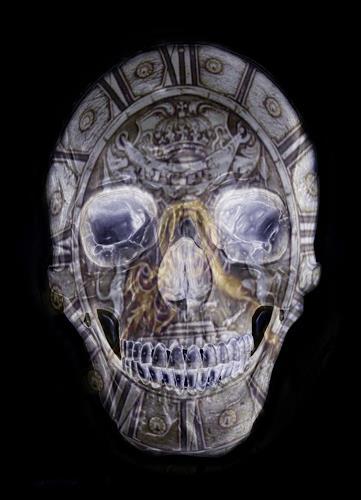 Niko Bayer, Timekeeper, Dekoratives, Zeiten: Zukunft, Gegenwartskunst, Abstrakter Expressionismus