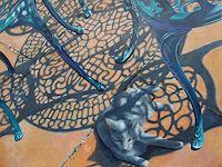 Neeharika-Donau-Tiere-Land-Dekoratives-Neuzeit-Realismus