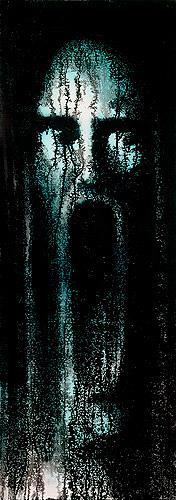Achim Prill, In Mind IX, Gefühle: Horror, Menschen: Gesichter, Gegenwartskunst, Abstrakter Expressionismus