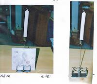 Mudjekewis, Serviettenhalter mit Kerzenständer