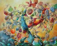 Elke-Henning-Pflanzen-Baeume-Glauben-Moderne-Andere-Neue-Figurative-Malerei