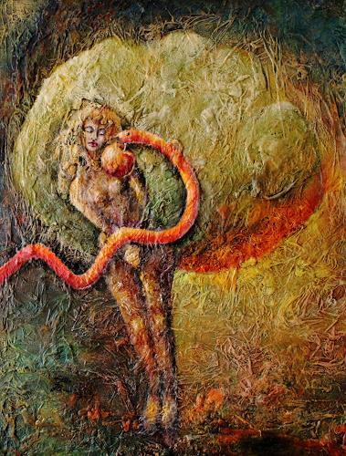 Elke Henning, Eva, Glauben, Mythologie, expressiver Realismus