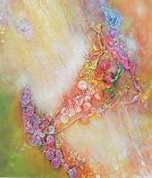 Elke-Henning-Pflanzen-Fantasie-Moderne-Abstrakte-Kunst