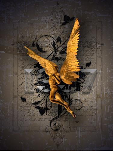 Alexander, Engel, Fantasie, Poesie, Neue Wilde, Abstrakter Expressionismus