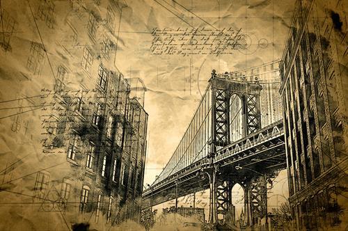 Alexander, Brooklyn, Architektur, Moderne, Expressionismus