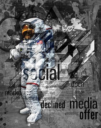 Alexander, Media, Abstraktes, Moderne