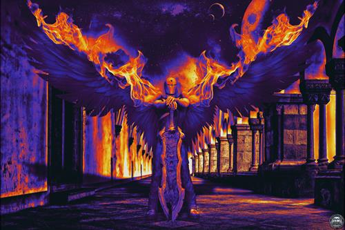Alexander, Angel on Fire, Fantasie, Moderne