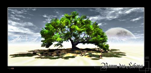 Alexander, Baum des Lebens, Stilleben, Landschaft: Berge, Neue Wilde