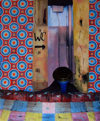 Christoph Klein, stiller Ort, Diverses, Kubismus, Abstrakter Expressionismus