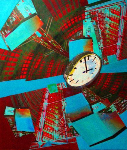 Christoph Klein, Raum  Zeit  Materie 2, Diverses, Kubismus, Abstrakter Expressionismus