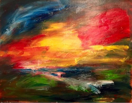 Raphael Walenta, O/T, Abstraktes, Akt/Erotik, Abstrakte Kunst