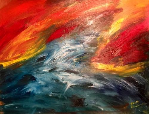 Raphael Walenta, O/T, Abstraktes, Natur, Avantgarde